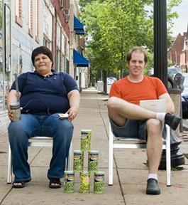 WasabiNet creators Minerva Lopez and Ben West - PHOTO BY JENNIFER SILVERBERG