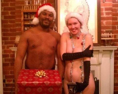 David Wraith and Kendra Holliday at last night's Fleshtivus.