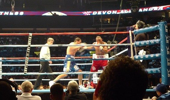 Devon Alexander got punched in the face. A lot.