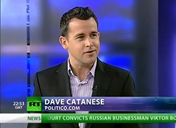 Dave Catanese in a 2011 television appearance. - YOUTUBE