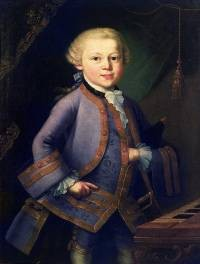 Mozart watched no wrestling as a lad -- think about it.