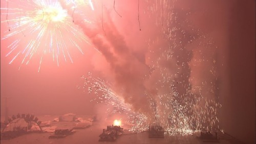 Image: From Fireworks at Isolation Room/Gallery Kit. - NICK CROWE AND IAN RAWLINSON.