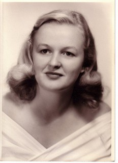 Betty Anne McCaskill as a young woman, around the time she got interested in public service. - IMAGE VIA