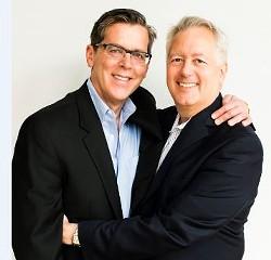 Paul Goetzheimer (left) and Jan Schamis. - JAN SCHAMIS