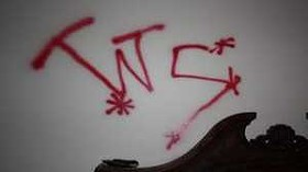 The writing on the wall. - IMAGE VIA