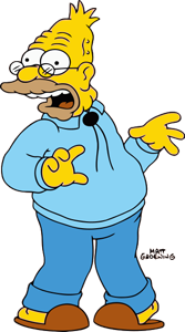 """Grampa Simpson (of Kansas) has always been on board. He once explained why his flag only has 49 stars: """"I'll be deep in the cold, cold ground before I recognize Missour-ah!"""""""""""