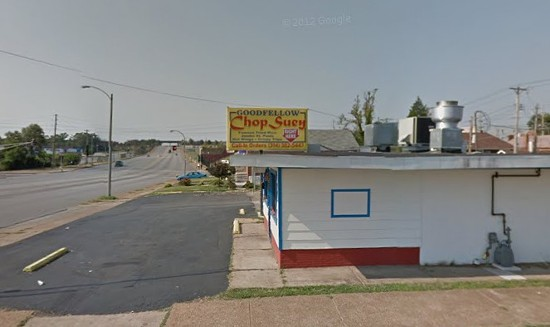 Chop Suey restaurant where the fatal shooting happened. - VIA GOOGLE MAPS