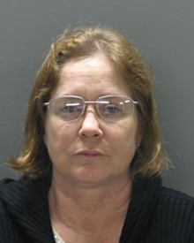 Virginia Burns' mug shot. She may have received unlawful disability payments, according to police. - LADUE POLICE DEPARTMENT
