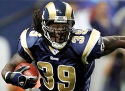 Neither police complaints nor linebackers stop Steven Jackson.