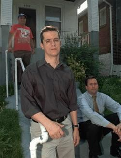 Attorneys Gustavo Arango (left) and Ken Schmitt (seated) brought the scheme to light in 2006.