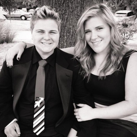 Shane Stinson and his girlfriend Danielle Pevehouse - COURTESY OF SHANE STINSON