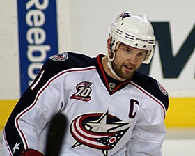 Rick Nash, the player it seems everyone wanted for the Blues, just isn't worth the price. - COMMONS.WIKIMEDIA.ORG