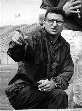 Joe Paterno in better times.