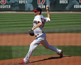 Ryan Franklin in 2008, his first season closing for the Cards. - COMMONS.WIKIMEDIA.ORG