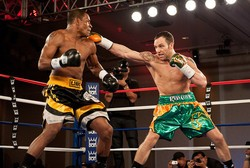 Fight night did not go the Irish Outlaw's way. - FREDERICK JOHNSON, DON KING PRODUCTIONS