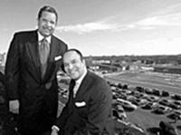 Mike and Steve Roberts - PHOTO: JENNIFER SILVERBERG