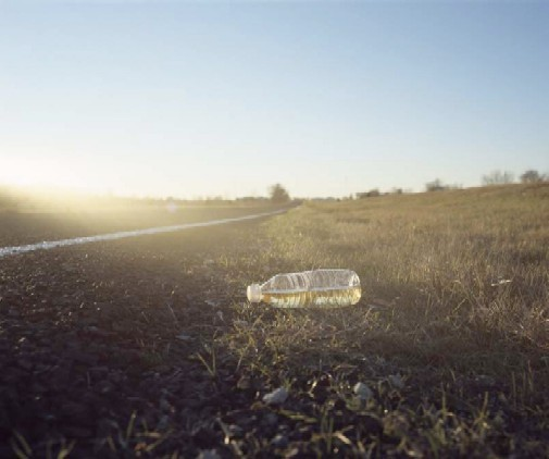 East Texas (Bottle of Piss) 2007 - COURTESY THE ARTIST AND ANDREW RAFACZ GALLERY, CHICAGO.