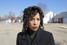 Cheryl M. Nelson -- NOT happy with St. Louis Public Schools Administrators - PHOTO BY JENNIFER SILVERBERG