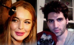 Lindsay Lohan and Christian LaBella, D.C.-based staffer to IL Rep. John Shimkus
