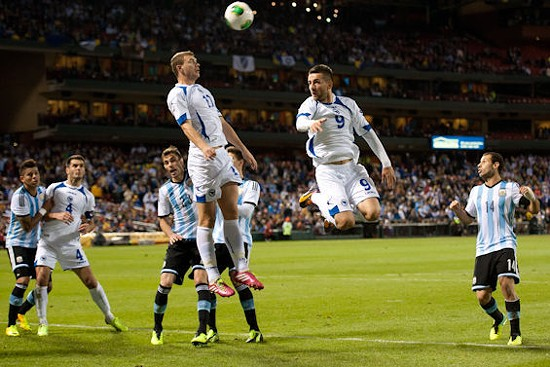 The Bosnian soccer team is coming back to St. Louis before the World Cup. - JON GITCHOFF