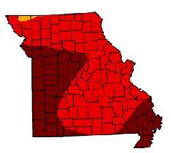 The redder the map, the worse off we are. That's pretty red, isn't it?