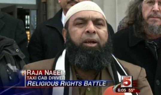 Raja Naeem speaking at a press conference last year. - VIA KSDK VIDEO.