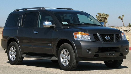 A Nissan Armada - DAVID GUO ON FLICKR