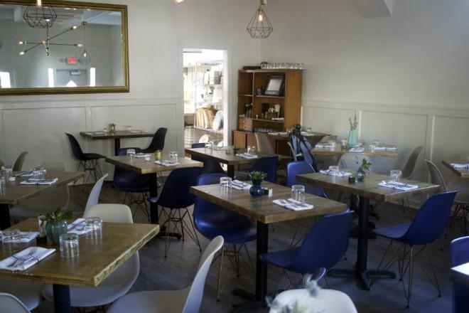 The dining room at 58hundred. - CHERYL BAEHR