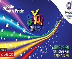 The Pride St. Louis banner as it appears on Metro's website. - METROSTLOUIS.ORG