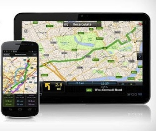 Phone GPS systems. - VIA