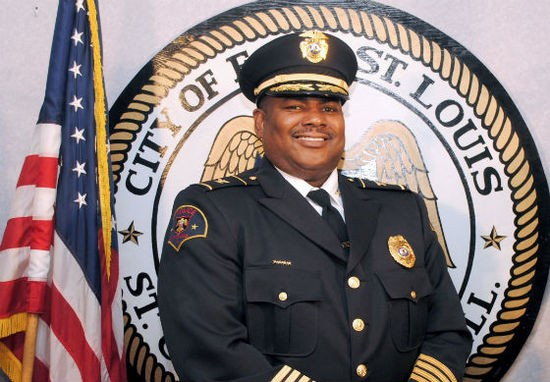East St. Louis Police Chief Michael Floore. - VIA