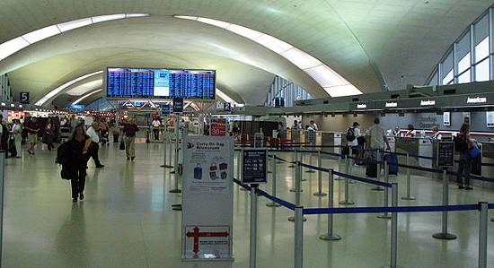 Lambert International Airport. - VIA
