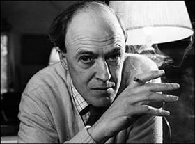 Roald Dahl: Only slightly less frightening than Harvey Dahl.