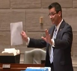 State Senator Brian Nieves. - VIA YOUTUBE/ PROGRESS MISSOURI