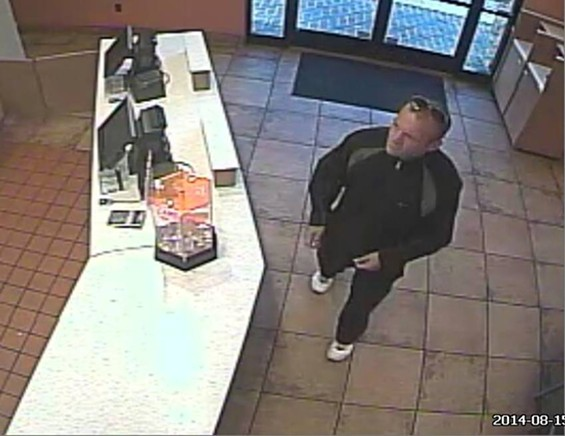 If you're going to rob a Taco Bell, maybe you should get food somewhere else? - SLMPD