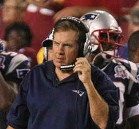 Bill Belichick is still the smartest coach in the NFL. He doesn't make many plays on the field, though. - COMMONS.WIKIMEDIA.ORG