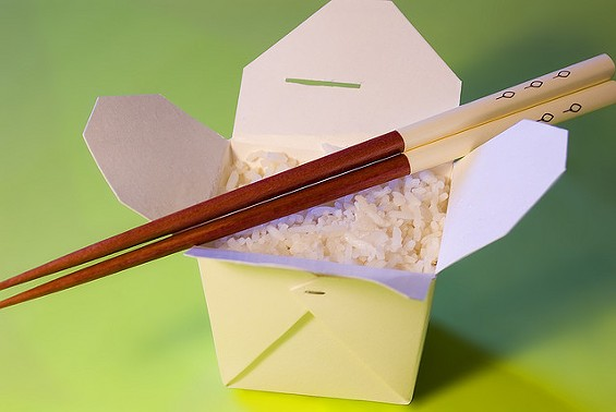 Why can't he just pay for his Chinese food like everybody else? - DSLRNINJA VIA FLICKR