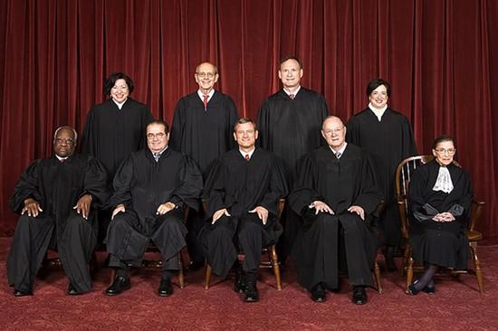 The U.S. Supreme Court. - WIKIMEDIA