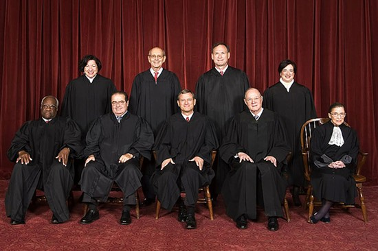 The U.S. Supreme Court. - WIKIMEDIA