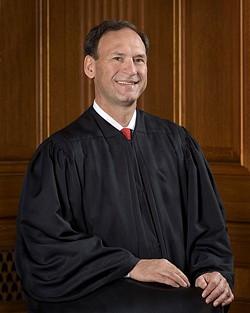 Justice Samuel Alito. - STEVE PETTEWAY