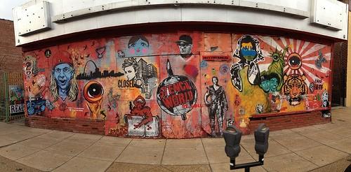 Street art on Cherokee Street. - JMCMICHAEL ON FLICKR