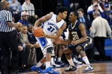 Dwayne Evans' double-double led the Billikens to a 78-56 victory over George Washington. - IMAGE VIA SLUBILLIKENS.COM