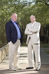 Village Voice Media owners Jim Larkin and Michael Lacey were arrested last night in Phoenix.