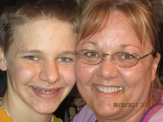 Tami and her son Matthew. - COURTESY OF TAMI INKLEY