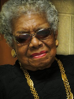 Maya Angelou. - YORK COLLEGE VIA FLICKR