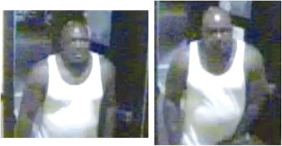 Surveillance footage released by Columbia Police shows Anthony Paine allegedly robbing Kaldi's Coffee two weeks ago.