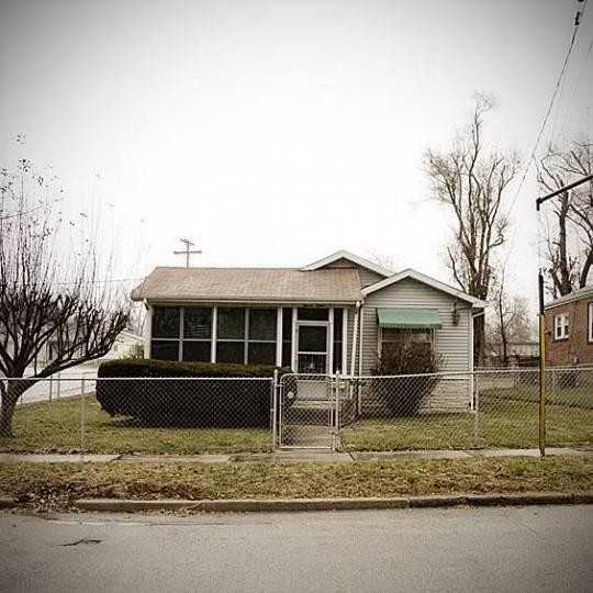 Miles' Davis first home in Alton, taken in 2008. - JENNIFER SILVERBERG