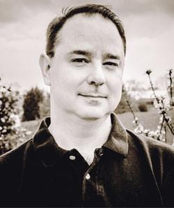 Sci-fi blogger and author John Scalzi is a big fan of Leckie. - ATHENA SCALZI