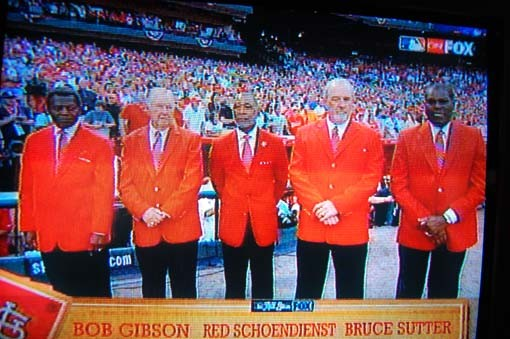 Five Cardinal Hall-of-Famers.