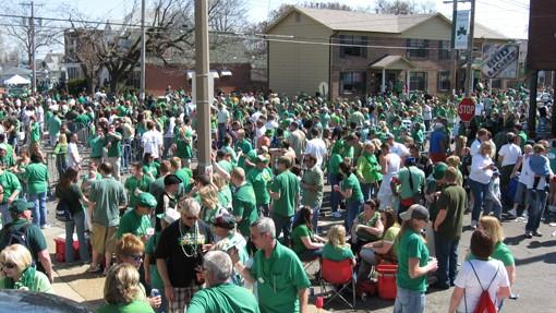 Gettin' their Irish on
